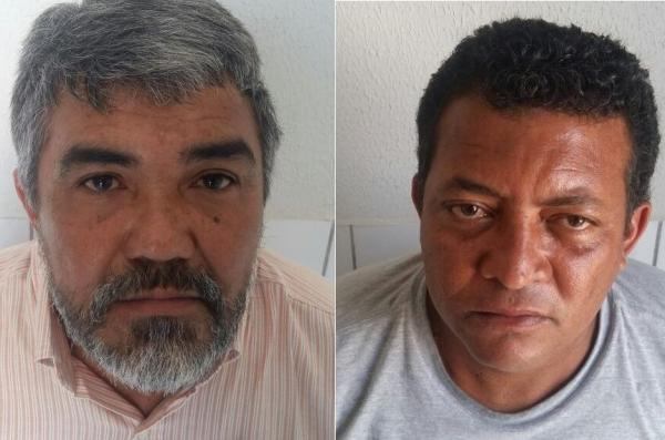 Criminosos foram presos em flagrante (Crédito: Reprodução/PM)