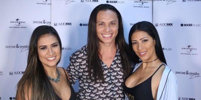 Travesti na TV, Silvero Pereira causa ao lado de Simone e Simaria