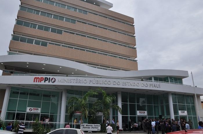 Sede do Ministério Público (Crédito: MP-PI)