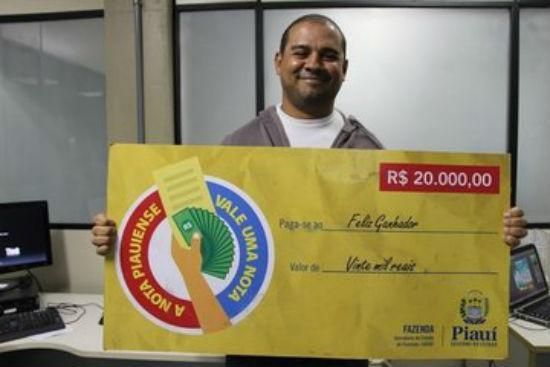 Ganhador de R$ 20 mil vai usar premiação para quitar dívidas (Crédito: Reprodução)