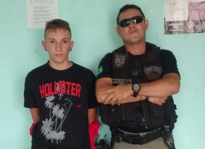 Victor Mendes Giusti (Crédito: Polícia Militar)