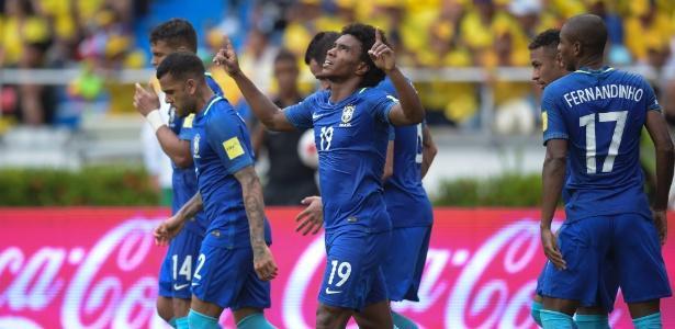 Brasil empata com Colômbia (Crédito: Raul Arboleda/AFP)