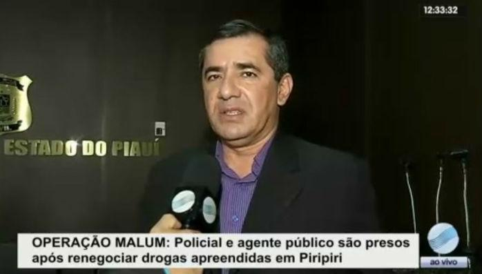 Delegado Willame Moraes. do GRECO (Crédito: Rede Meio Norte)