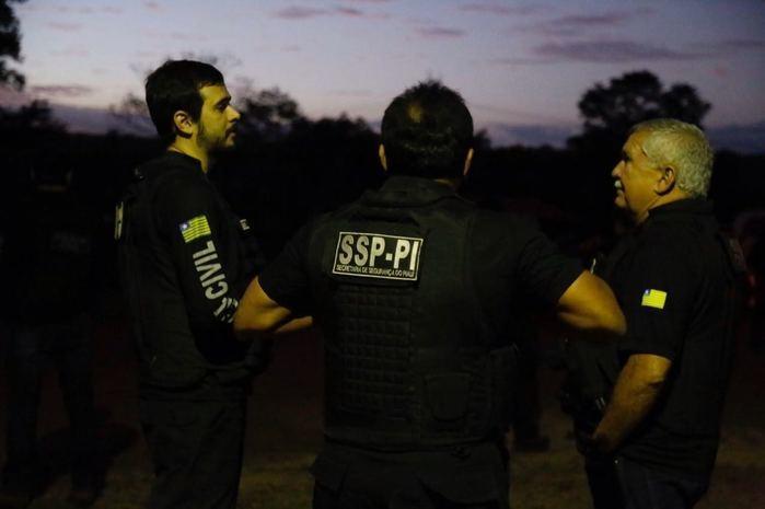 Operação Malum integrou várias delegacias (Crédito: Polícia Civil)