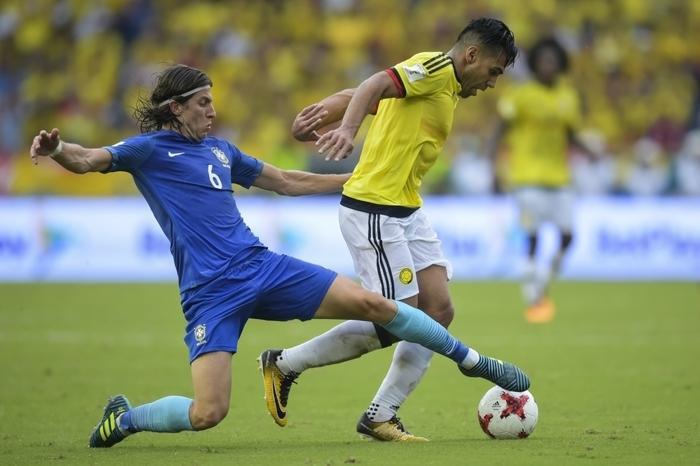 Brasil empata com Colômbia (Crédito: AFP)