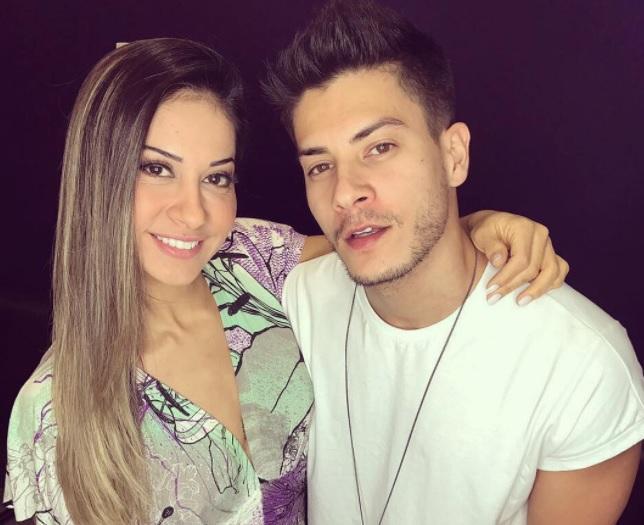 Mayra Cardi vai casar com Arthur Aguiar após 2 meses de namoro (Crédito: Reprodução)