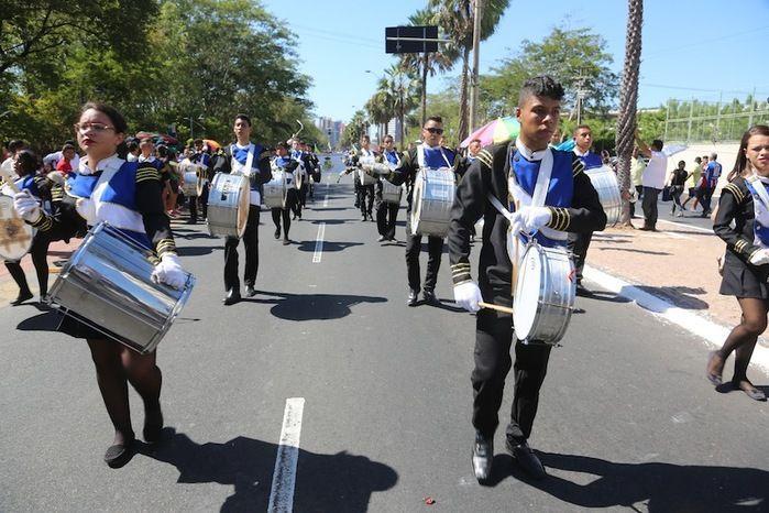 Desfile Cívico e Militar do 7 de Setembro ocorrido em 2016 (Crédito: Efrém Ribeiro)