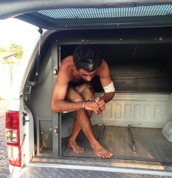 Foragido da justiça é preso após agredir mãe e policial em Parnaíba