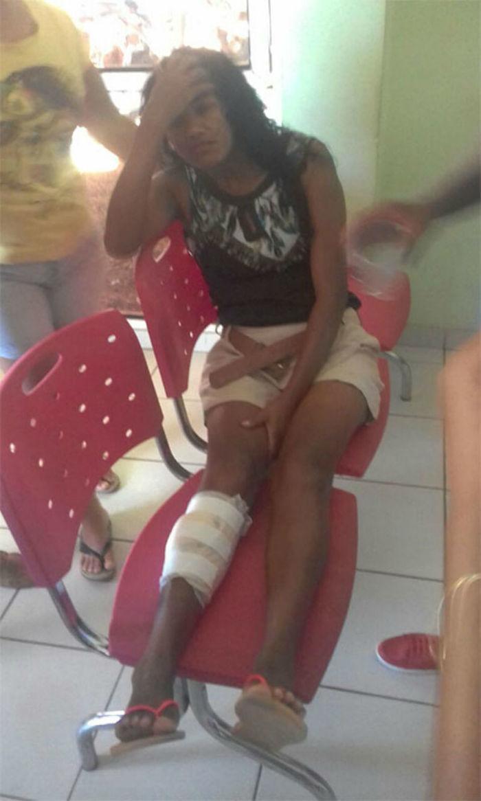 Os feridos foram encaminhados para o Hospital de Bom Jesus  (Crédito: Reprodução)