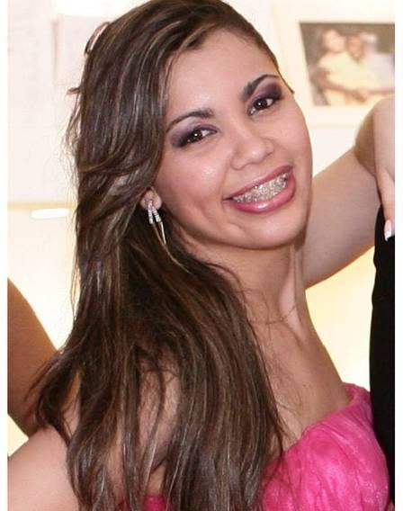 Luana Sales, suspeita de ser a mandante do crime (Crédito: Reprodução)