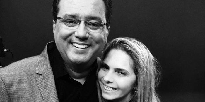 Namorada de Marcelo Rezende nega afastamento de Geraldo Luís