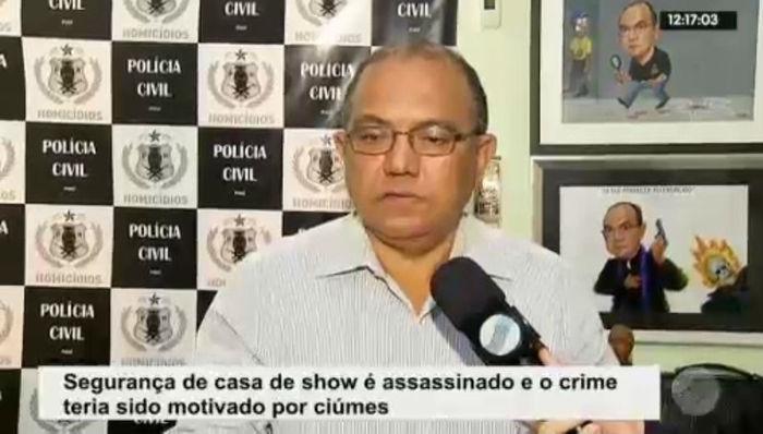 Delegado fala sobre o crime (Crédito: Rede Meio Norte)