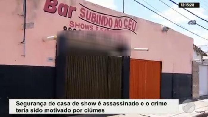 Local onde ocorreu o crime (Crédito: Rede Meio Norte)