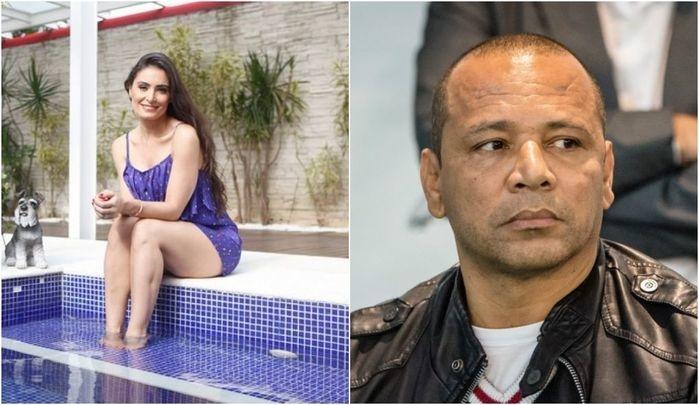 Pai de Neymar vive romance com a atriz Francielly Freduzeski (Crédito: Reprodução)