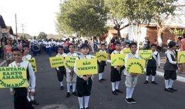 Desfile cívico emociona palmeiraisenses