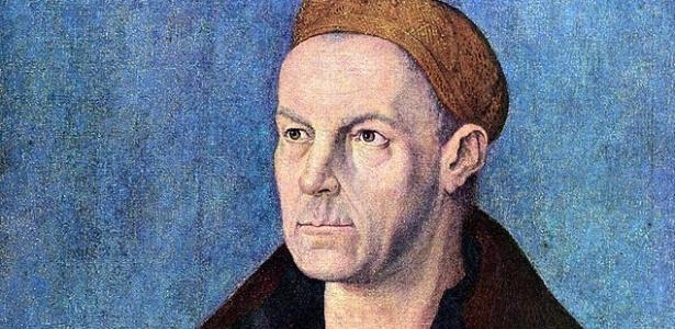 Retrato de Jakob Fugger, o homem mais rico da história (Crédito: Reprodução/UOL)