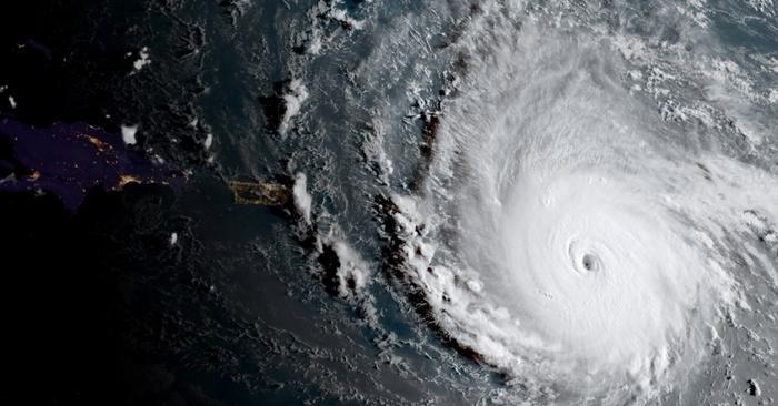 Furacão Irma (Crédito: Nasa)