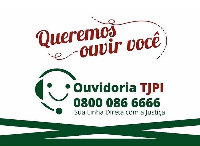 Ouvidoria do Tribunal de Justiça do Piauí (Crédito: Divulgação)