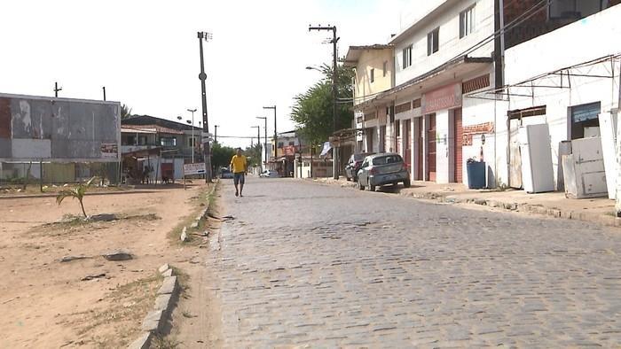 Crime aconteceu no início da tarde, no bairro do Renascer, em Cabedelo  (Crédito: Reprodução/TV Cabo Branco)