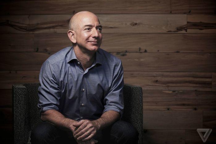 Bilionário Jeff Bezos