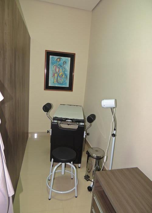Sala de exame ginecológico (Crédito: Edinardo Pinto )