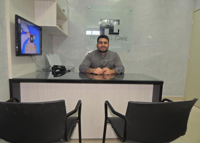 Odontólogo Dr. Homero Café (Crédito: Edinardo Pinto )