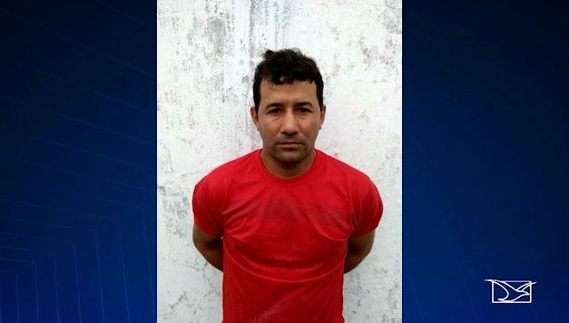 Traficante internacional de drogas preso no Maranhão (Crédito: TV Mirante)
