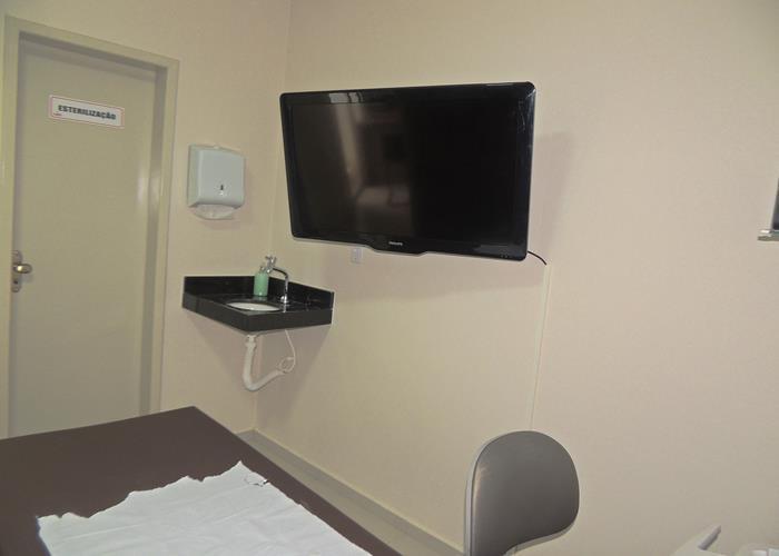Sala de Ultrassonografia (Crédito: Edinardo Pinto )