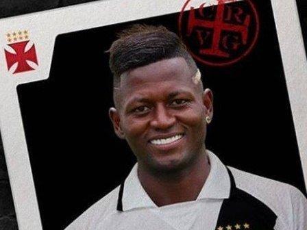 Vasco anuncia a contratação do atacante Riascos