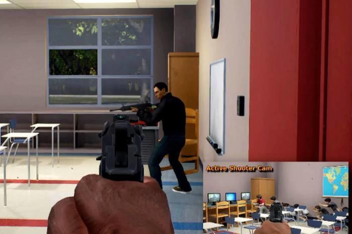 Game é utilizado para treinar policiais e bombeiros (Crédito: Reprodução)
