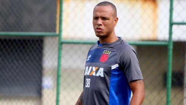 Luis Fabiano em treinamento no Vasco (Crédito: Reprodução)