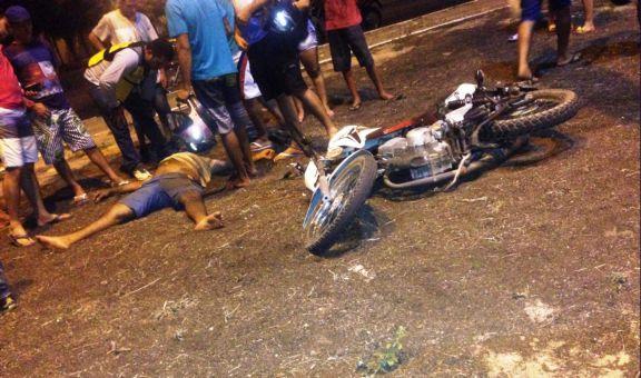 Vítima foi encaminhada para o Hospital Dirceu Arcoverde (Crédito: Reprodução )