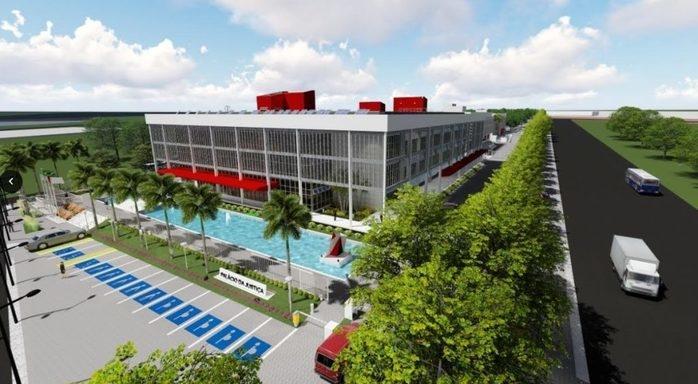 Projeto da nova sede do Tribunal de Justiça do Piauí (Crédito: Divulgação)
