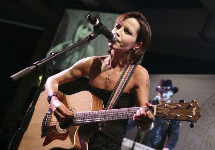 Dolores O'Riordan, vocalista da banda irlandesa The Cranberries (Crédito: AP Photo)
