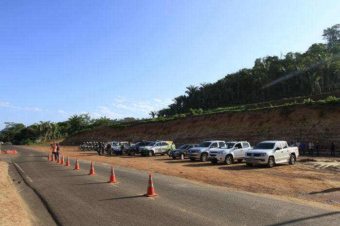 Posto da Polícia Rodoviária Estadual no povoado São Vicente (Crédito: João Albert)