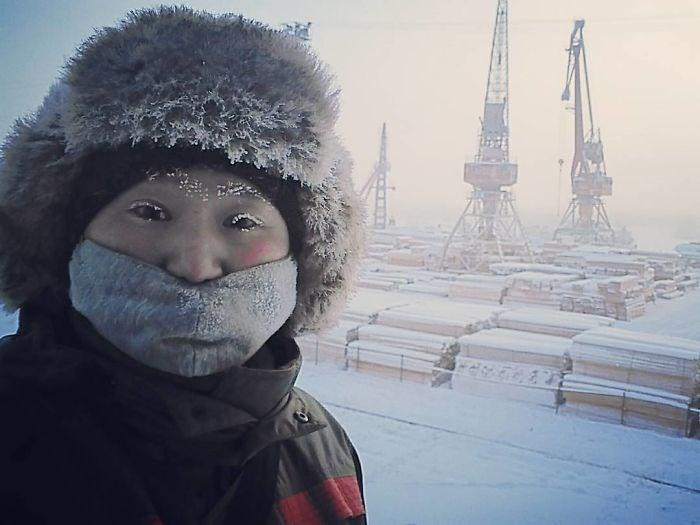 Vilarejo mais frio do mundo registra temperatura de -62º C