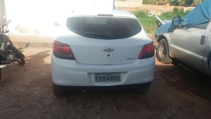 Carro recuperado no Maranhão (Crédito: PRF-Maranhão)