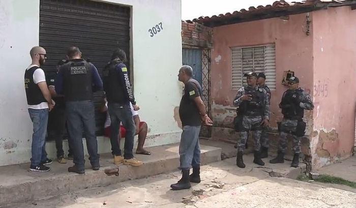 Policiais da Delegacia de Homicídios foram acionados (Crédito: Rede Meio Norte)