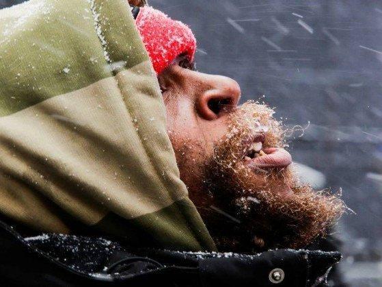 Devido frio extremo duas pessoas morrem nos EUA