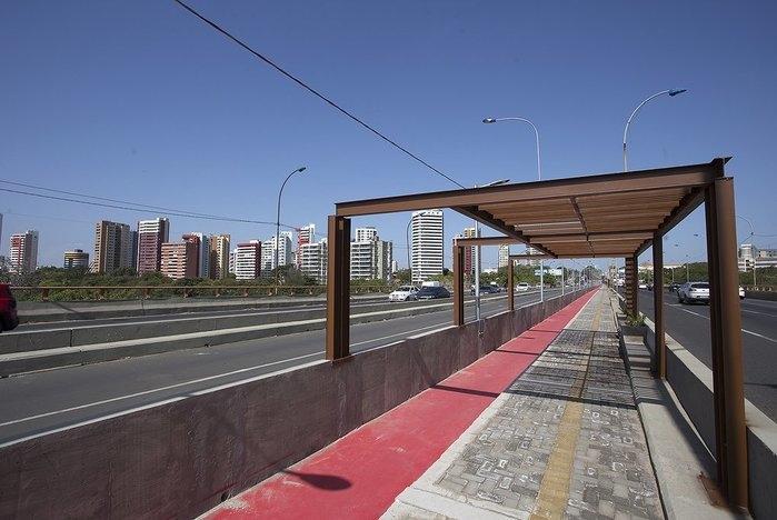 Ponte do meio, em Teresina (Crédito: Reprodução )