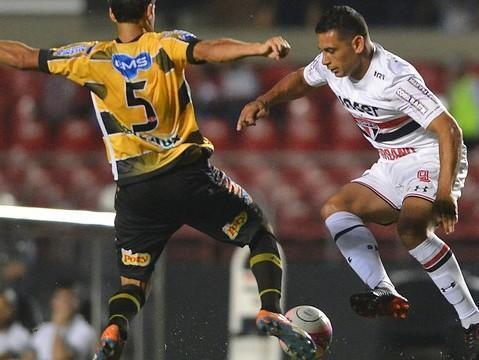 Em estreia de Diego Souza, SP só empata com Novorizontino