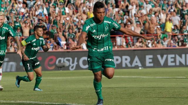 Palmeiras bate o Botafogo em Ribeirão Preto e fecha rodada com 100%