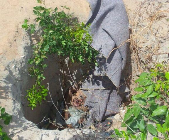 Homem é encontrado morto em buraco no quintal de casa
