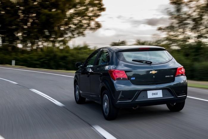 Chevrolet Onix é o carro mais vendido do Brasil há 3 anos (Crédito: Divulgação)