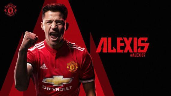 Alexis Sánchez é o novo reforço do Manchester United (Crédito: Reprodução)