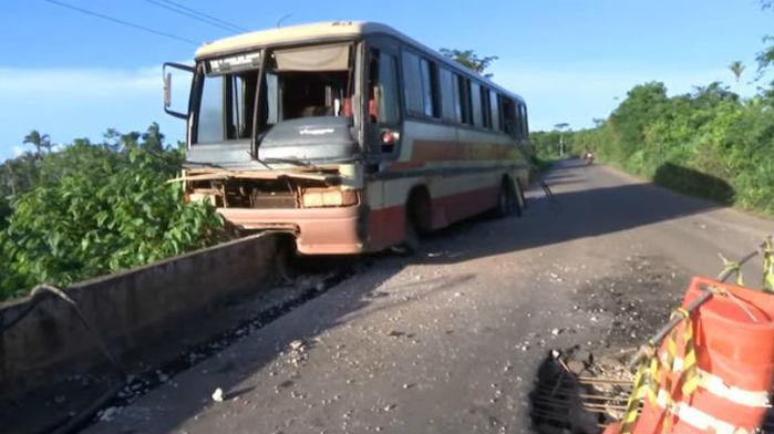 Acidente ocorreu próximo da cidade de Caxias