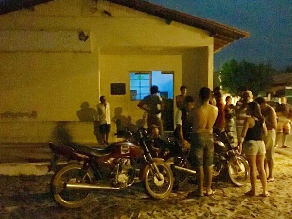 Agência dos Correios de São Miguel do Tapuio (Crédito: Portal Samita)