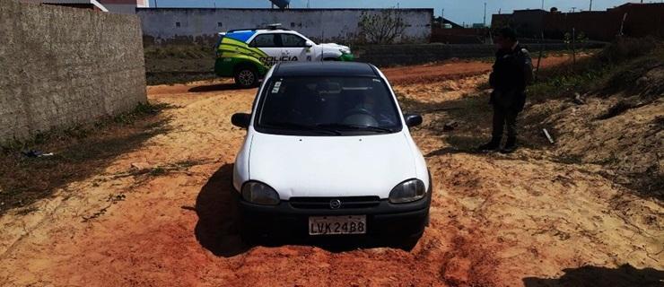 Carros furtados durante o réveillon em Luís Correia são recuperados