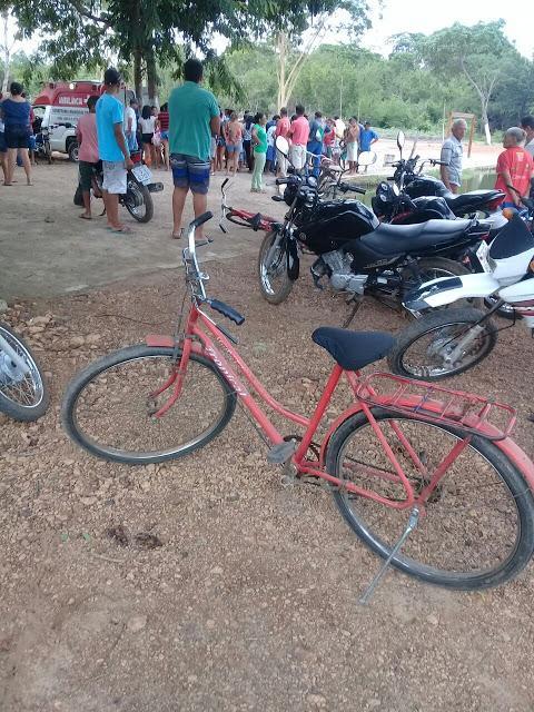 Bicicleta da vítima  (Crédito: Reprodução)