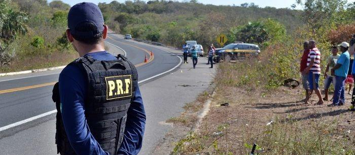 PRF registra o menor número de mortos em acidentes no norte do PI